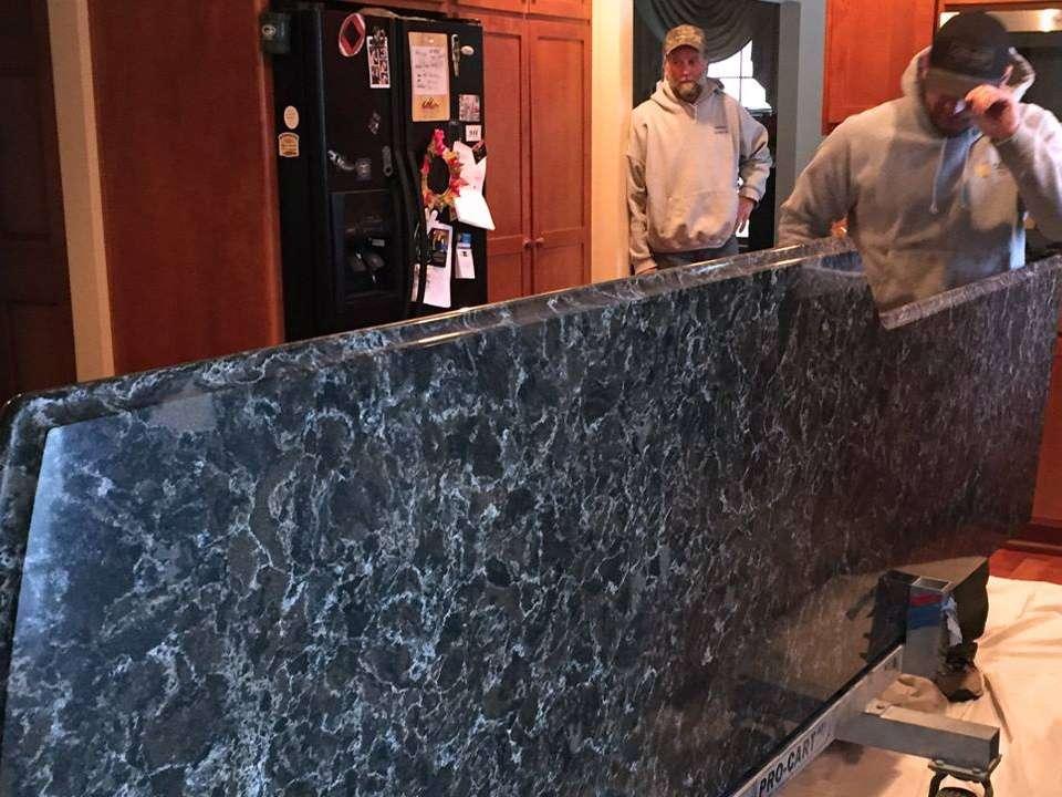 StarMark Cabinetry Glamorous Kitchen Island Addition 1