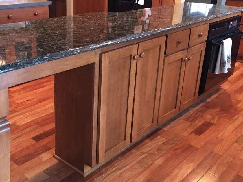 StarMark Cabinetry Glamorous Kitchen Island Addition 2