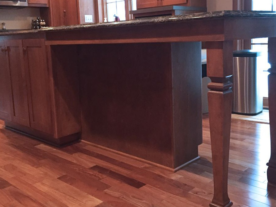 StarMark Cabinetry Glamorous Kitchen Island Addition 4