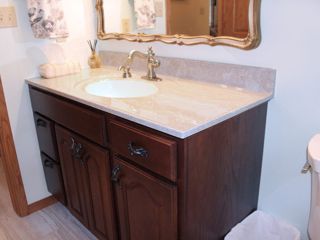 StarMark Cabinetry Redo of 1970s Bathroom 1