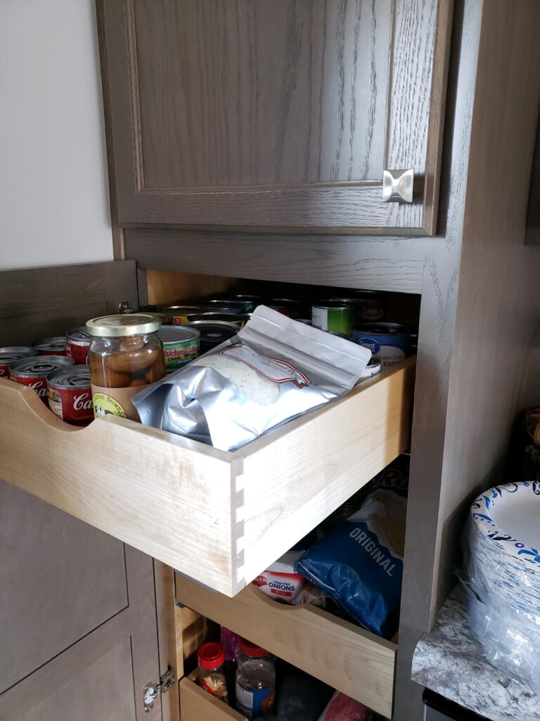StarMark Cabinetry Roll out Pantry Trays