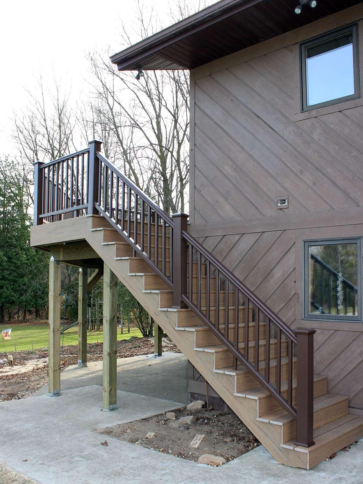 Textured TimberTech Deck 4