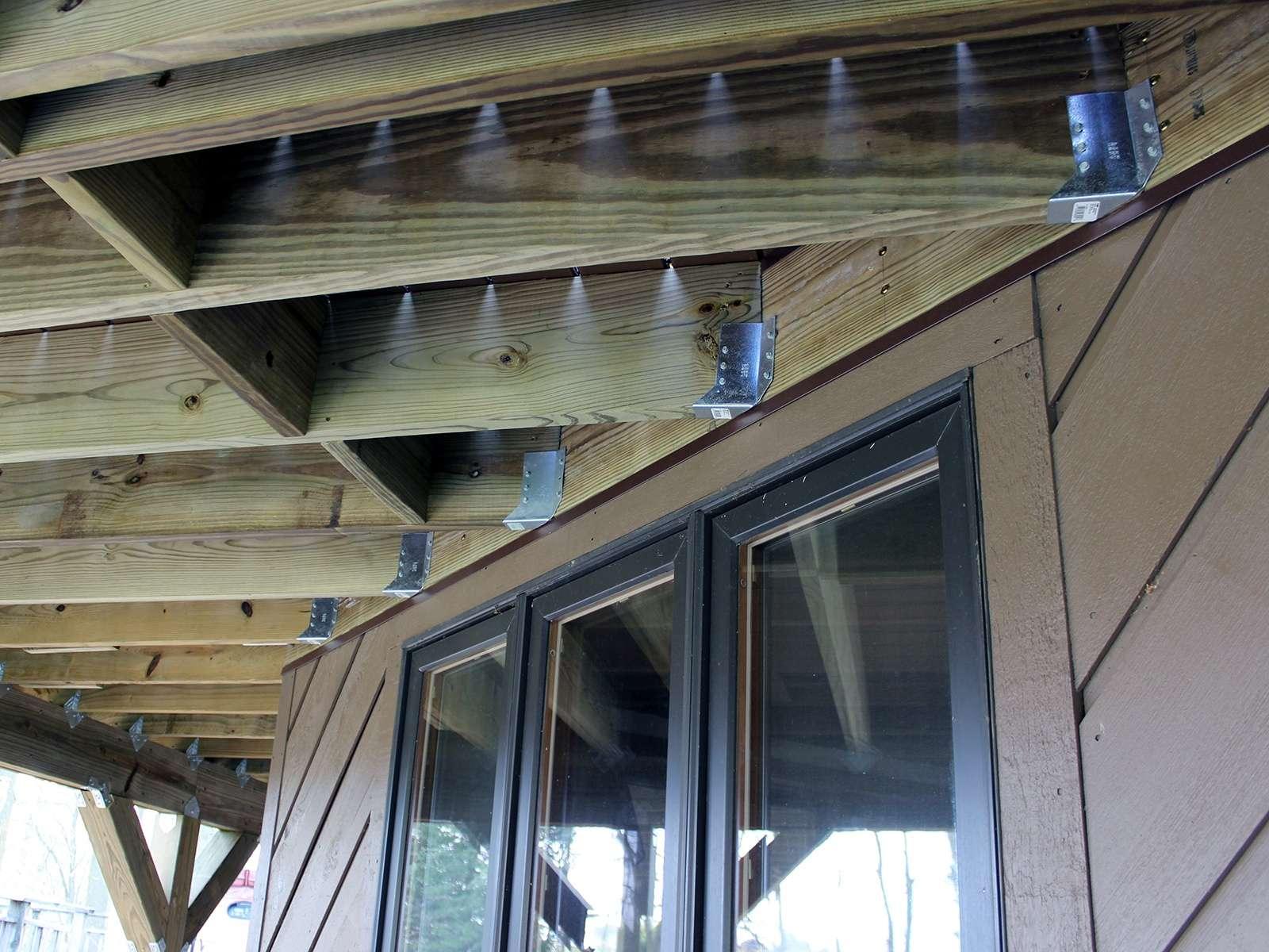 Textured TimberTech Deck 8