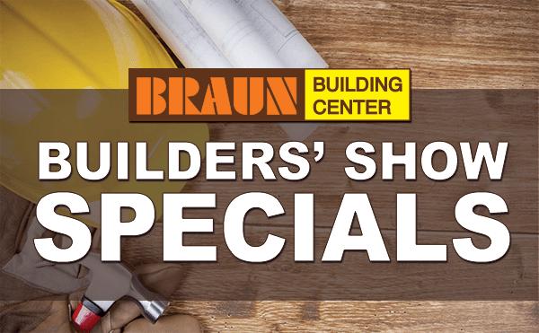 2021 Builders Show Specials