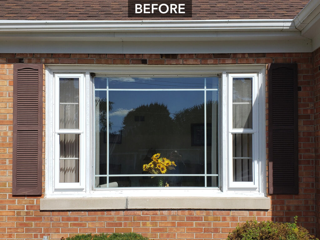 70-Year-Old Window Unit Before Replacement