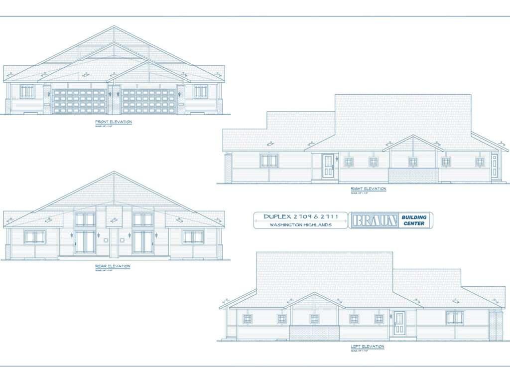 Blueprints Condo Units 2709 and 2711