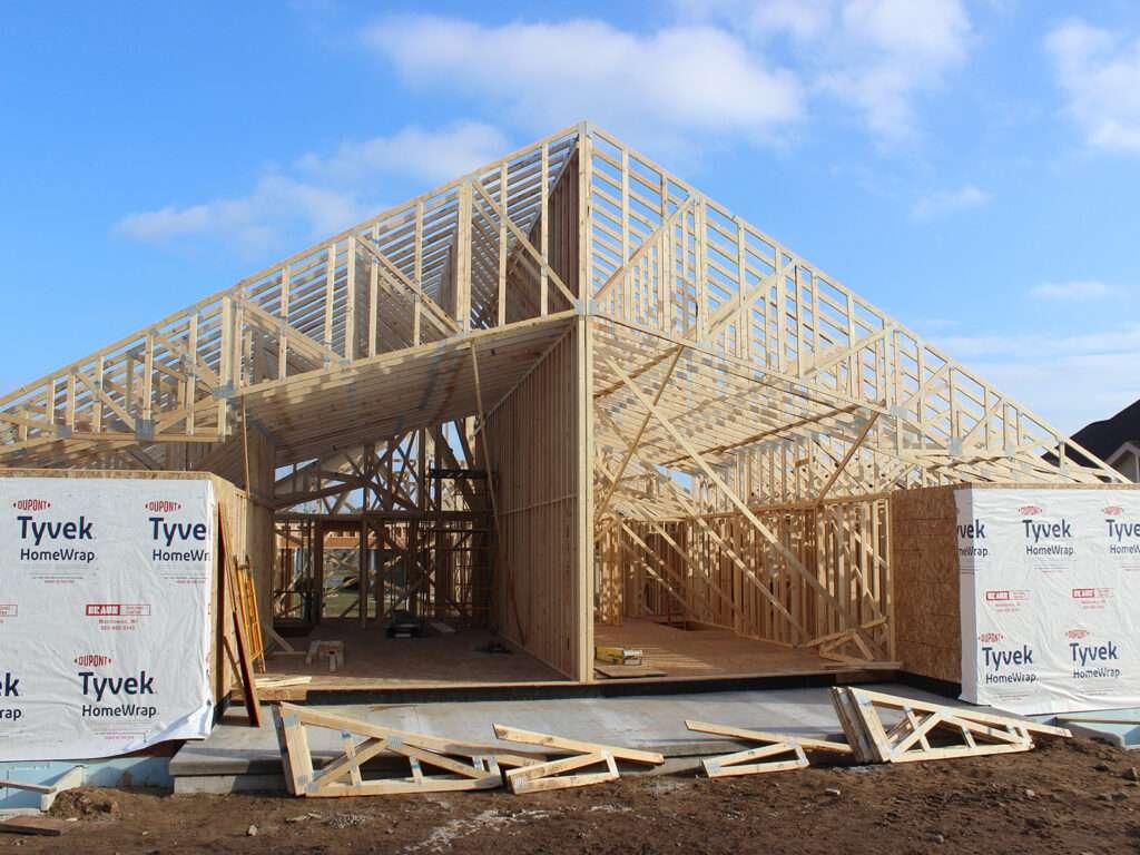 Braun Framing and Trusses at Condo Duplex-2