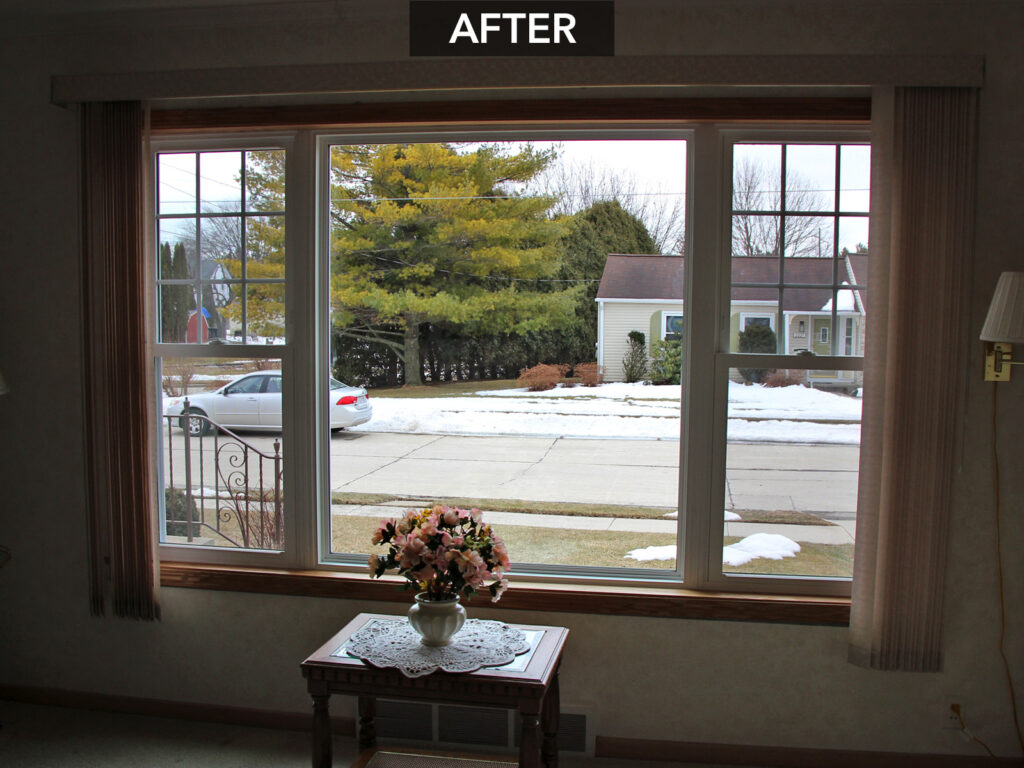 Inside View Window Unit Replacement Alliance Windgate