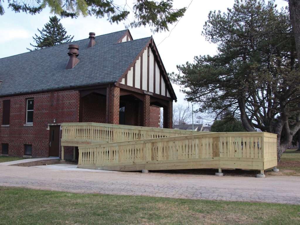 Lincoln Park Fieldhouse ADA Ramp