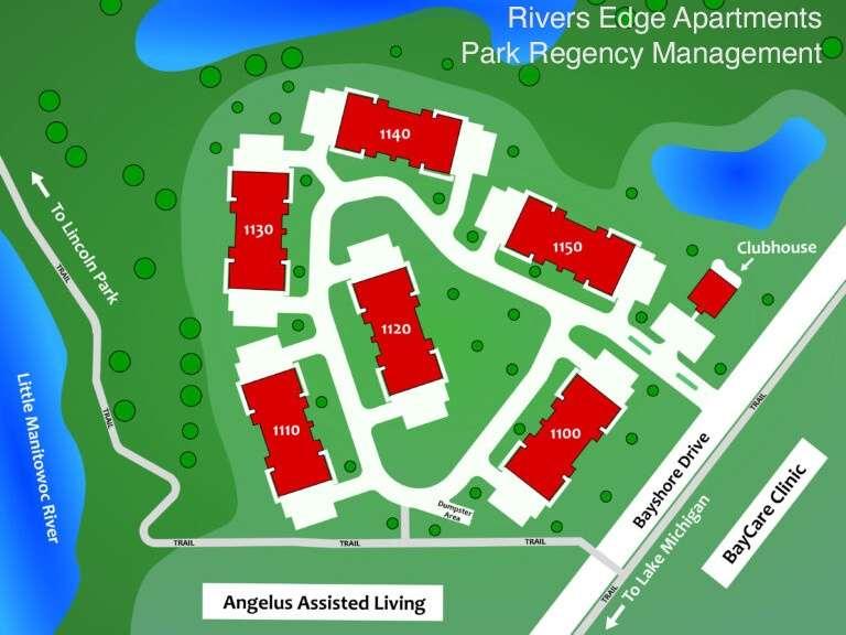 Rivers Edge Apartments Location
