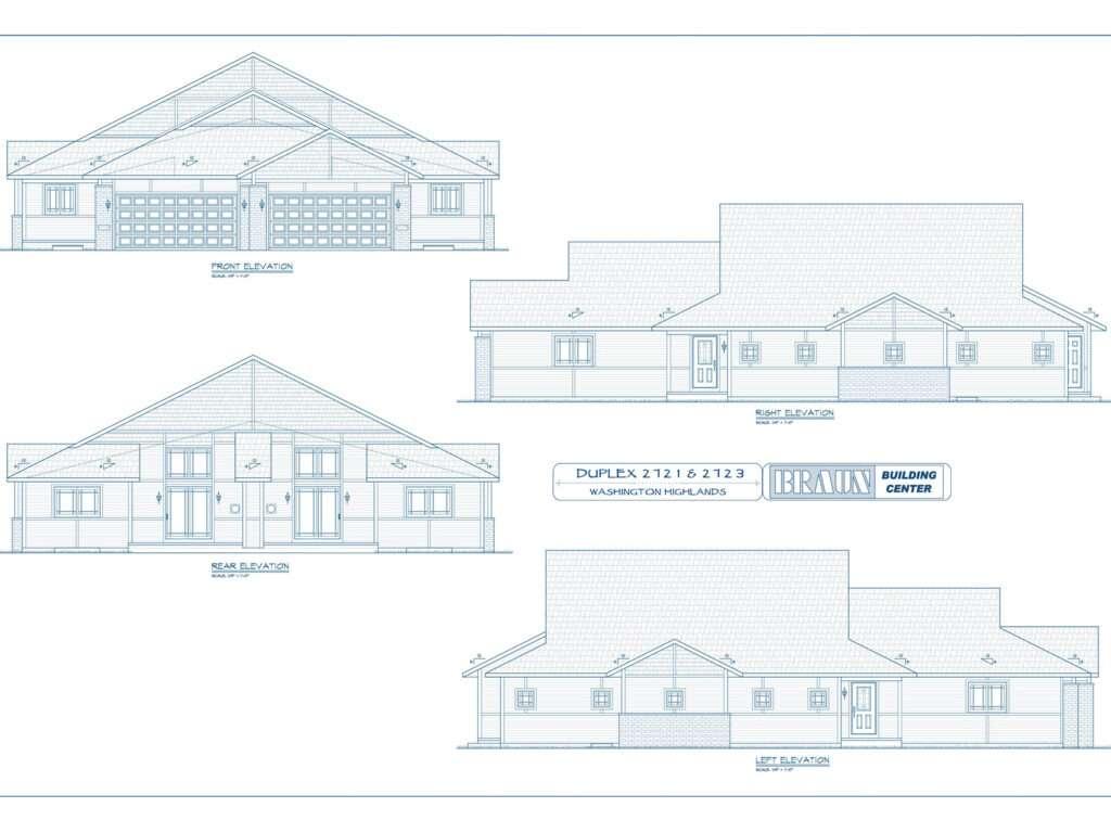 Blueprints - Condo Units 2721 and 2723